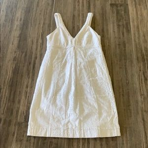 Lilly Pulitzer white patchwork dress
